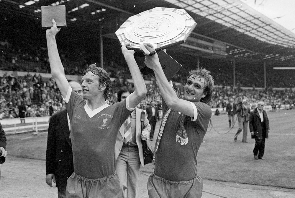 Photograph of Liverpool FC winning the Charity Shield